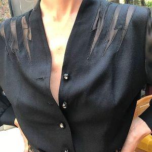 Vintage Bowie blouse