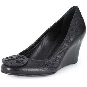 Tory Burch Sally Leather wedge heel
