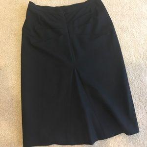BCBC pencil skirt w/ ruching