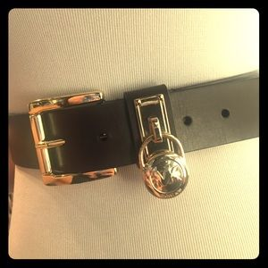 Dark Brown Michael Kors Belt. NWT.