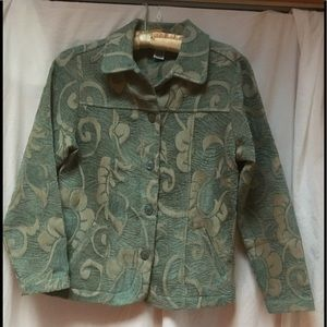 EUC Graff by Um Company Tapestry Jacket
