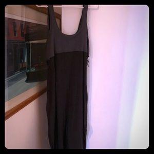 Free people grey maxi dress