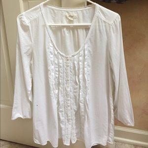 Woman's Shirt-M. White button down by Aerie