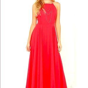 Red Maxi Dress 💃🏻