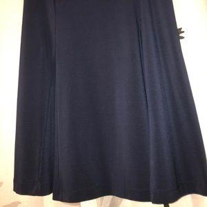 Navy lightweight skirt