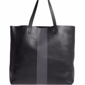 •nwt• Madewell paint stripe transport tote