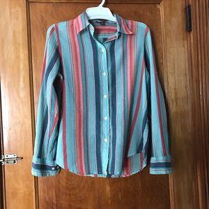 Ralph Lauren Aztec Bohemian Button Up Shirt