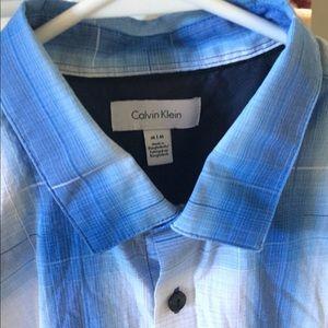 Calvin Klein medium dress shirt