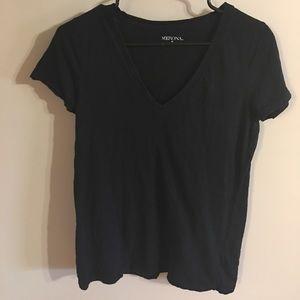 Merona black T-shirt size M