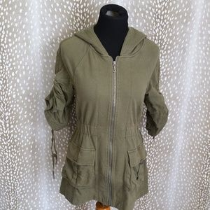 Juicy Couture Utility Drawstring Jacket Size S