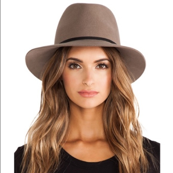 cad531b9 Janessa Leone Accessories - Janessa Leone Lola Hat in Camel