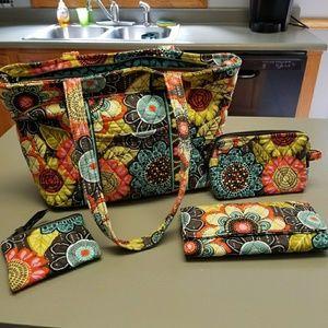 Vera Bradley Bundle nwot..flower shower pattern