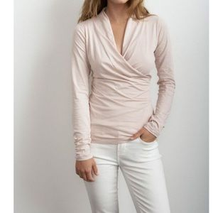 Anthro's velvet by graham & spencer meri pale pink