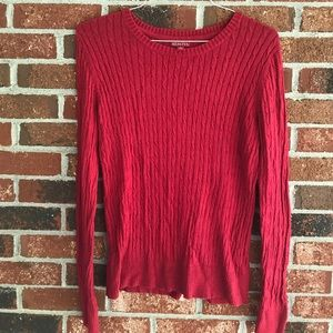 Merona Red Sweater. Size L.