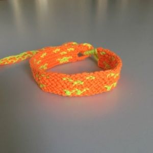 Halloween Jack-o-Lantern Bracelet