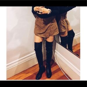 Over the Knee leather boots size 7