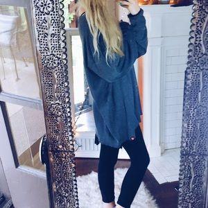 Sweaters - Burnout Longsleeve