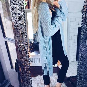 Sweaters - Lithuanian Woven Cardigan