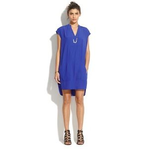 Blue Madewell Tunic Dress with Pockets