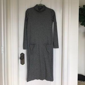 Zara Flannel Herringbone Dress