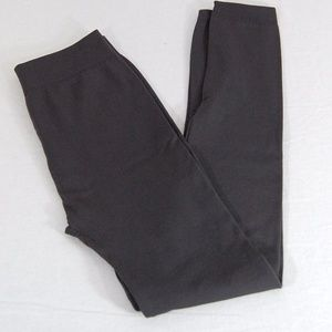 Pants - NWOT Gray Fleece Lined Soft Leggings