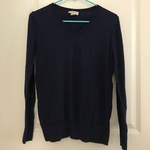 LOFT navy sweater— so soft!