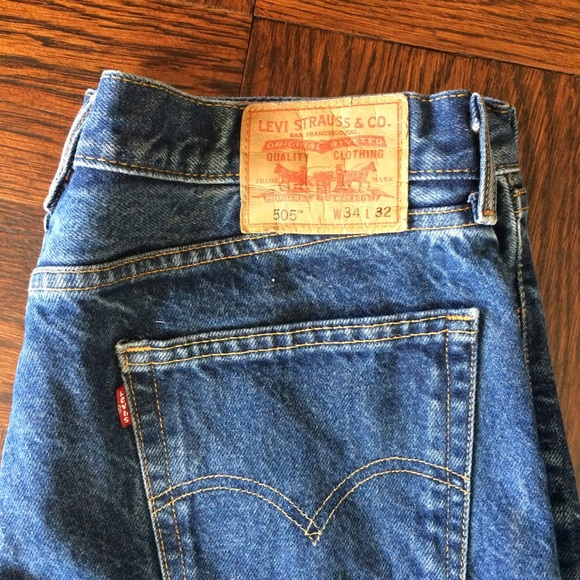 Levi's Other - Vintage Levi's 505 Medium Dark Wash Mens or Womens