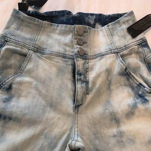 Bebe skinny high rise jeans
