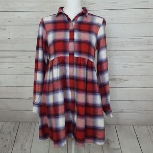 Altar'd State plaid tunic