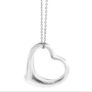 Tiffany & Co Elsa Peretti Open Heart Necklace