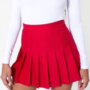 American Apparel - Garbadine Tennis Skirt