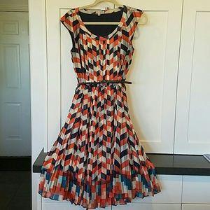 Nordstrom Cap Sleeve dress-Halogen brand size 4