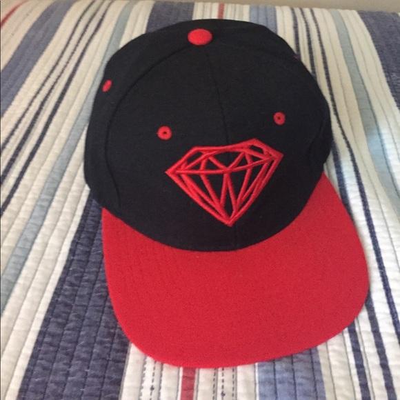 new product ddb9e ecdae Diamond Supply Co. Other - DIAMOND BRILLIANT SNAPBACK CAP