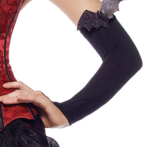 Black Opera Length Bat Costume Gloves Halloween  sc 1 st  Poshmark & Leg Avenue Accessories | Black Opera Length Bat Costume Gloves ...