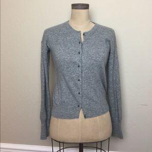 J. Crew wool/cashmere blend cardigan