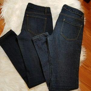 Bundle of 2 forever 21 denim jeans size 26