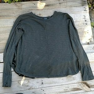 Left of Center XL long sleeved swing top