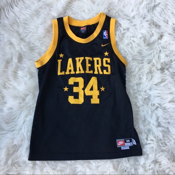 fd9c7fa4550 Vintage Nike Shaquille O Neal Lakers Jersey. M 59e4d5b98f0fc4f2580c21dd