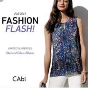 Cabi stained glass blouse
