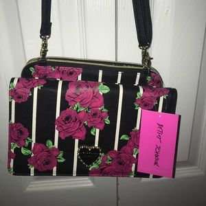 NWT BetseyJohnson crossbody