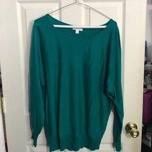 Dolman sweater!
