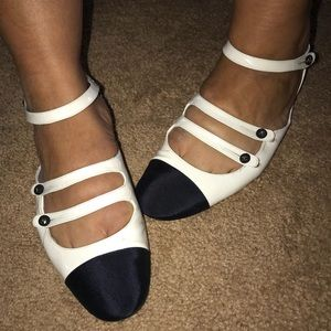 Chanel Strappy Flats