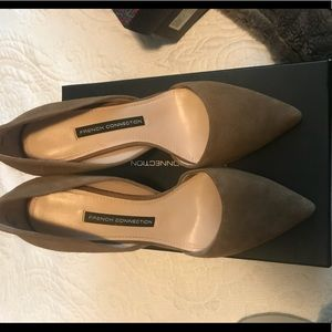 Taupe French Connection Heels