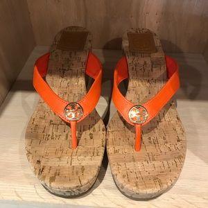 Tory Burch Suzy 75mm Salem sandal wedges
