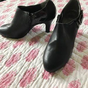 Black Stiletto Booties