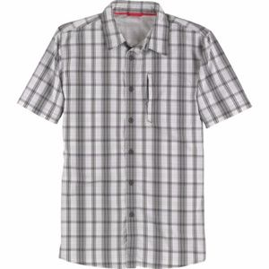 Mens Casual Active Button Down Shirt - LARGE