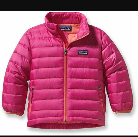 Patagonia Baby//Girls Nano Puff Jacket 4T NWT Cute! Warm Comfy