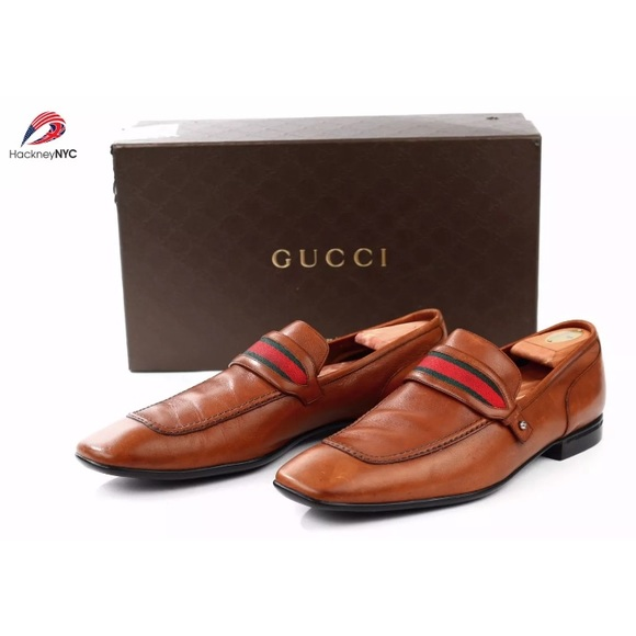 e41c9f55719 Gucci Other - Authentic Gucci Penny Loafers Shoes Web Trim 12D