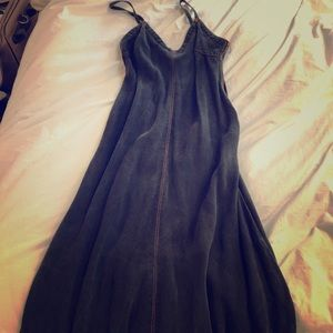 Jean Paul Gaultier Dress Vintage Black Denim