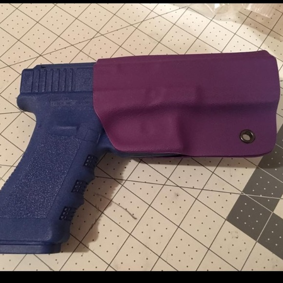 Glock 17 holster purple